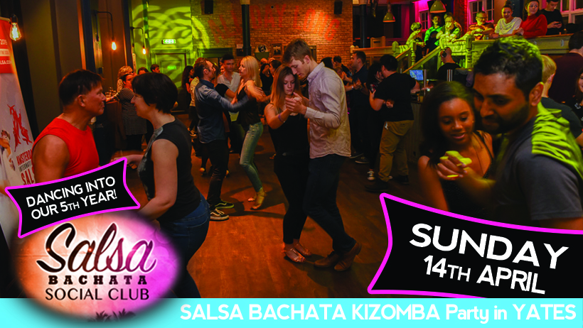 Salsa Bachata Dance Party in Reading UK